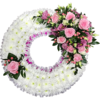 Based Wreath in Pink
